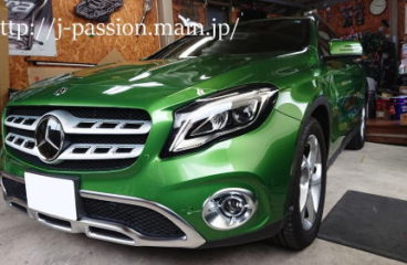 メルセセスベンツ GLA 220 4MATIC [ 愛車のカーコーティング施工は 愛知県にあるジェイ・パッションにお任せください^^!]